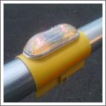 夜間自動点灯太陽電池式LED点滅灯点灯虫の紹介